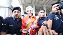 Zahid Hamidi heads home after posting half of RM2m bail