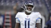 Titans receiver working hard to build on impressive debut