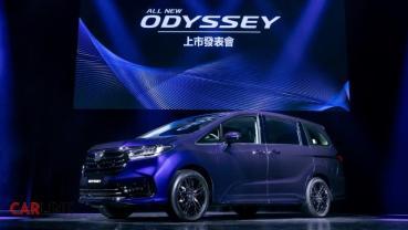 HONDA Sensing是標配!小改款Odyssey三車型162.9萬起上市