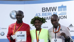 Bekele claims Berlin win in near record time