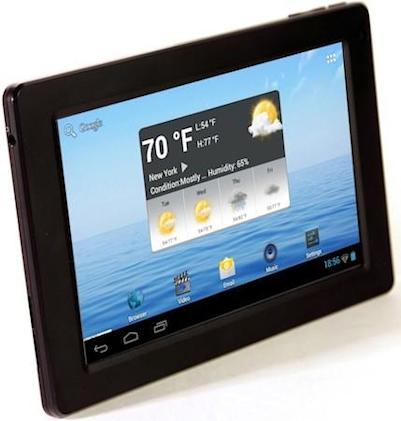 eFun launches $130 Next 7S tablet with Ice Cream Sandwich, 1GHz CPU