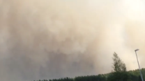 Massive Forest Fire Rages in Sweden