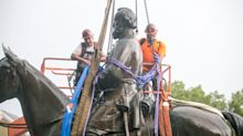 Stonewall Jackson statue, other Confederate monuments come down along Richmond's Monument Avenue