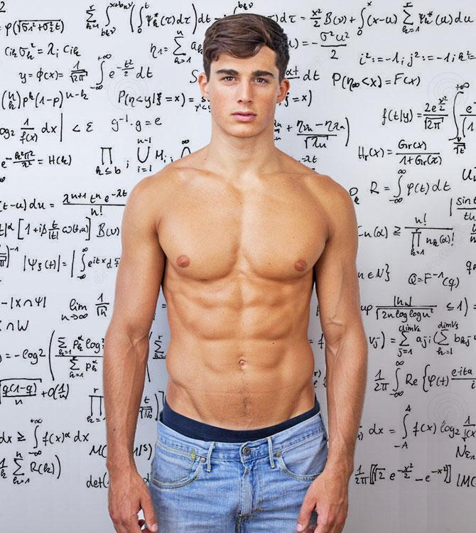 Hot Male Model Moonlights as Mechanical Engineering Professor
