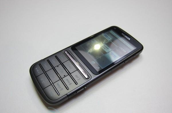 Nokia C3 Touch and Type hands-on
