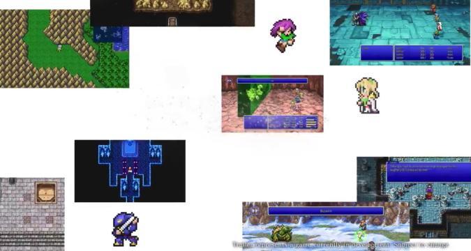 Final Fantasy Pixel Remakes