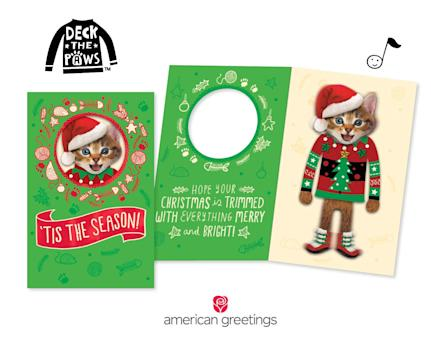 Make christmas extra fun with new deck the pawstm cards from make christmas extra fun with new deck the pawstm cards from american greetings m4hsunfo