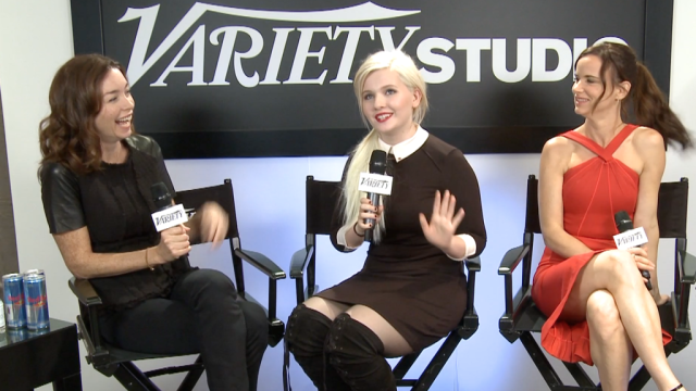 Abigail Breslin and Juliette Lewis Talk August Osage County – TIFF2013