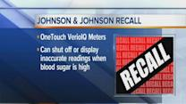 Company recalls blood sugar meters