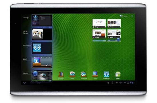 Acer Iconia Tab A501 with HSPA+ hits AT&T on September 18th: $330 on contract
