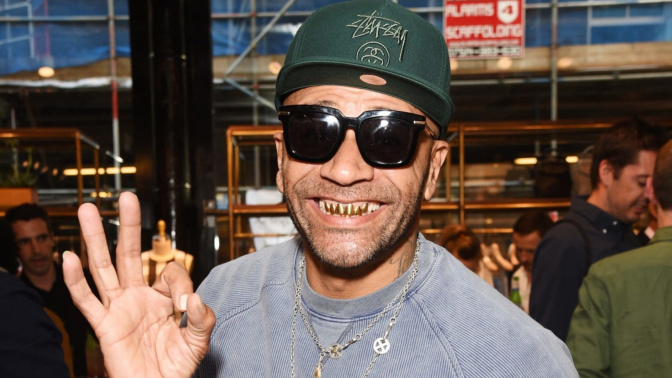 Has Goldie fueled theory Banksy is Massive Attack's Robert Del Naja with slip of the tongue?