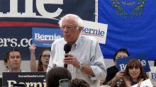 The Latest: Sanders defiant about Democratic establishment