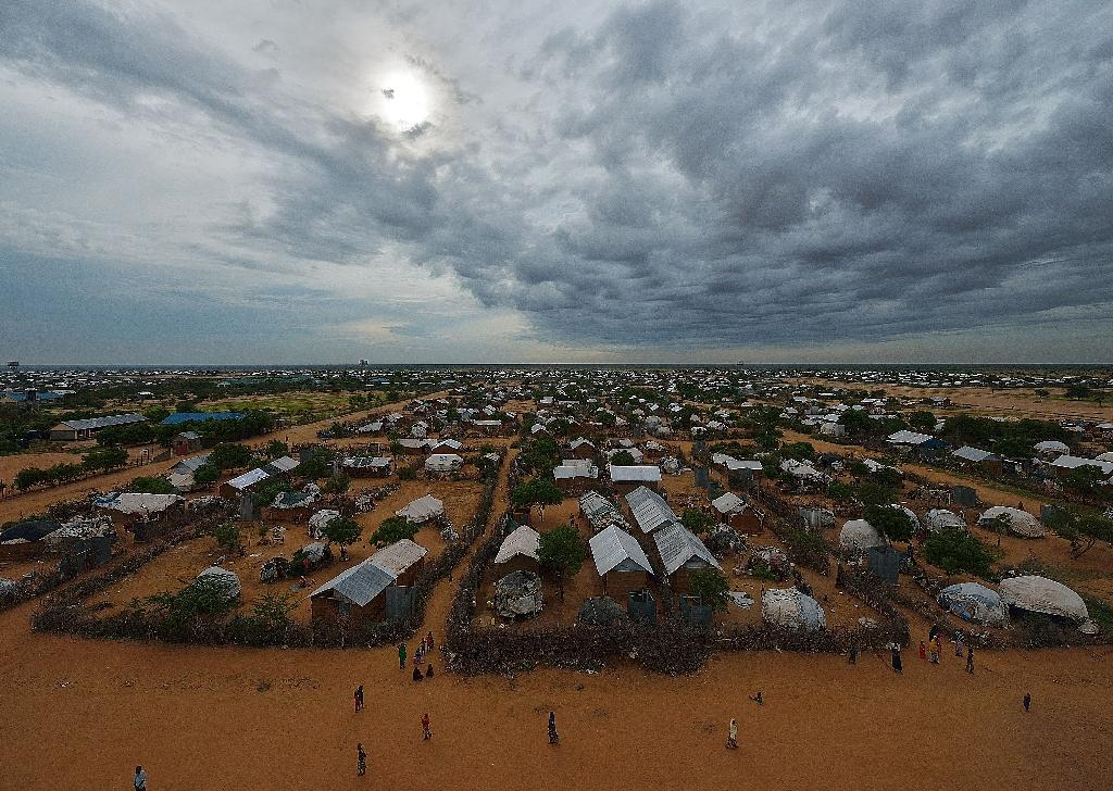 Part of the eastern sector of the IFO-2 camp in the sprawling Dadaab refugee camp