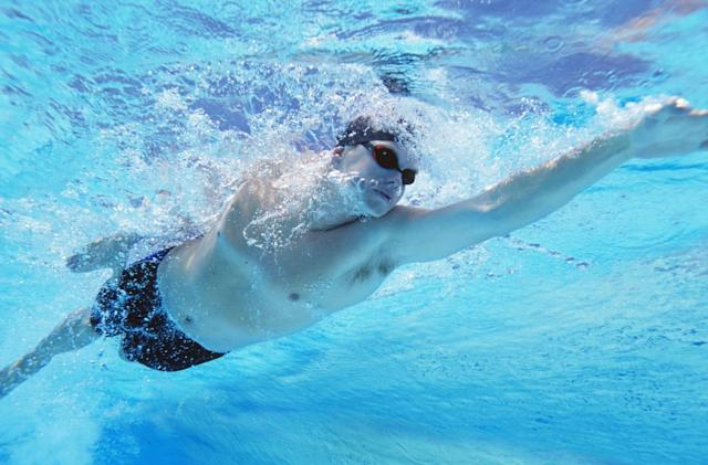 Microsoft Research wants to pit you against virtual swimmers