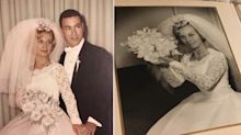 A Florida Woman Just Found a 54-Year-Old Wedding Album In Her Ceiling