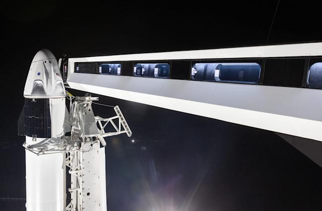 Watch SpaceX's Crew Dragon in-flight abort test at 10:30AM ET on Sunday