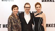 Darkest Hour premiere: Gary Oldman can't stop smiling as he joins Lily James after Golden Globes nomination