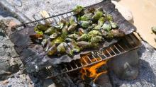 The Secret to Sand-Free Beach Grilling