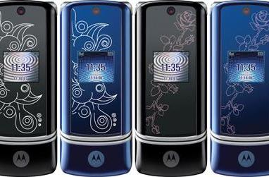 Motorola gets artsy with the KRZR; T-Mobile wants in?