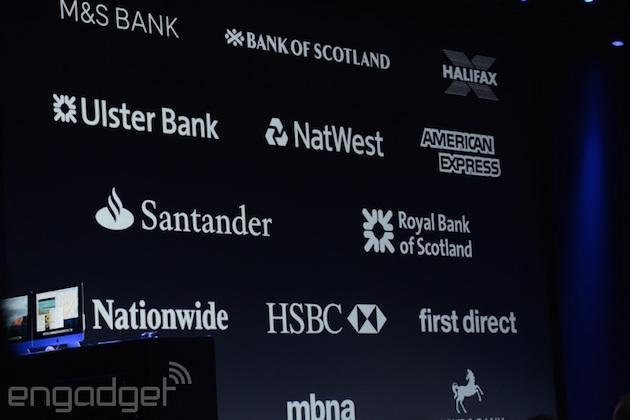 Barclays doesn't support Apple Pay, but it's likely to