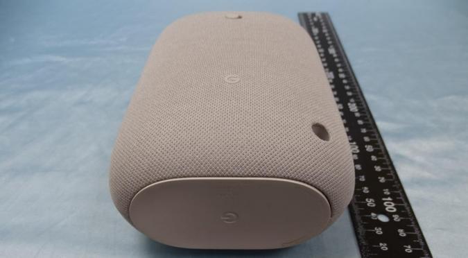 Leaked image of the Google Nest speaker