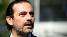Lebanon's Sunni leader Hariri urges revival of French plan