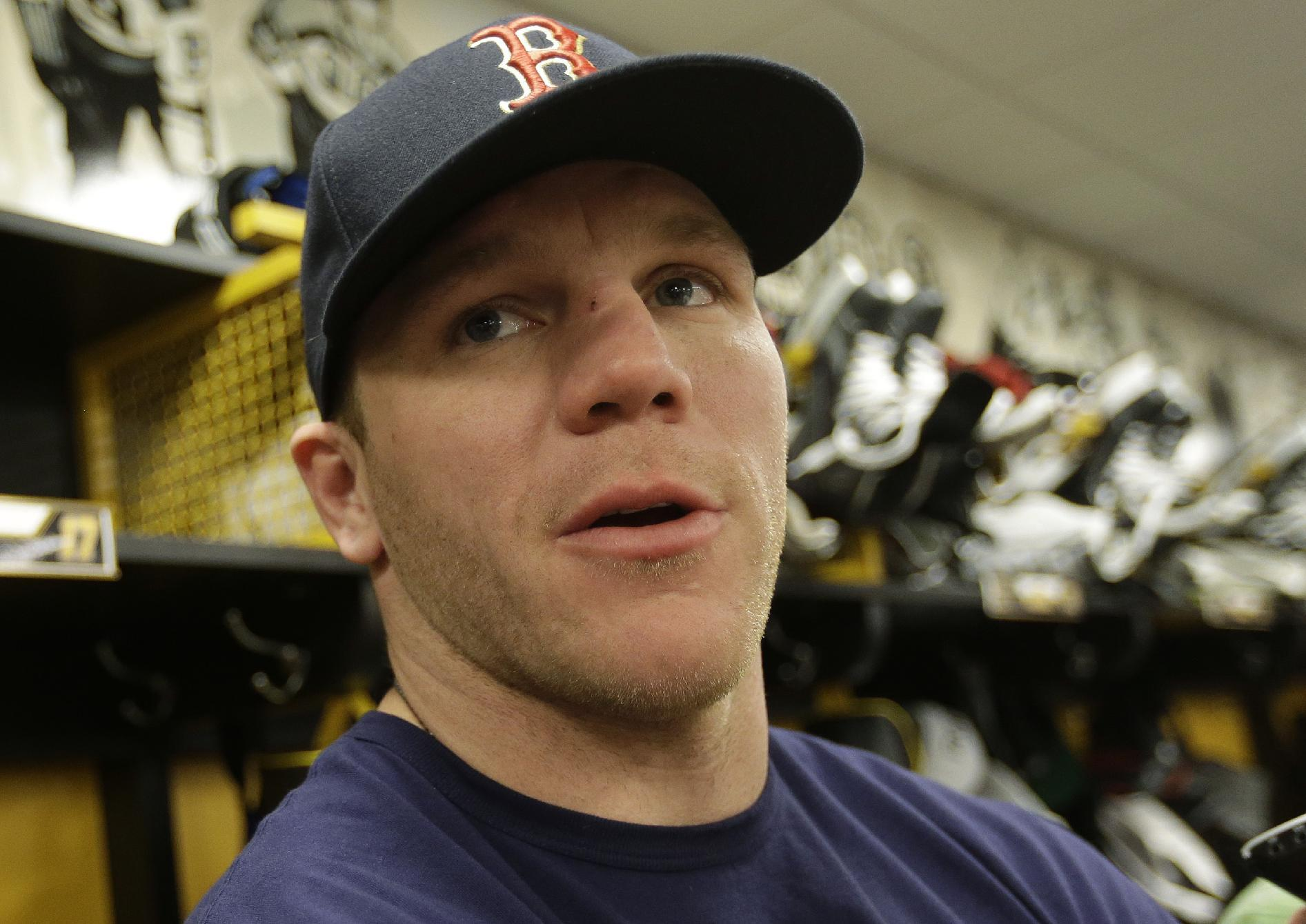 Shawn Thornton would punch sister for win, so why not a Bruin?