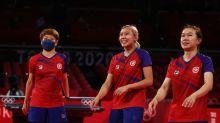 Olympics-Table Tennis-Hong Kong bags first women's team bronze