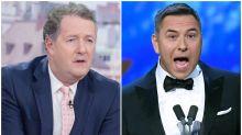Piers Morgan Labels David Walliams A 'D***head' After 'Annoying' and 'Smug' NTAs Presenting Debut