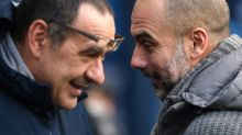 Guardiola relishes Man City stability as Chelsea's Sarri struggles