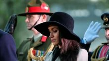 Did Meghan Markle just hint at her wedding dress designer at the Anzac Day service?