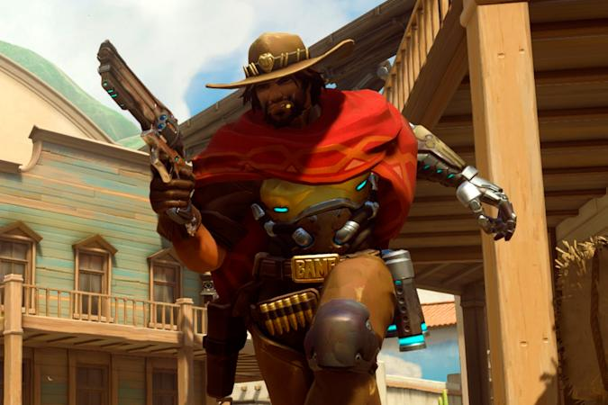 McCree in 'Overwatch' for the Switch
