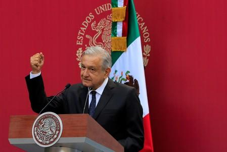 Mexican president vows to bring down violence after 'El Chapo' sentencing