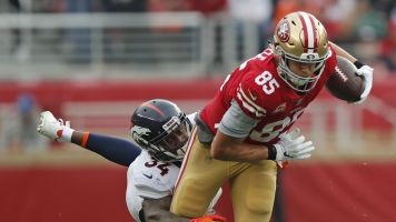 Fantasy Booms and Busts: Kittle dominates
