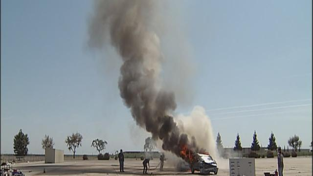 Kern County Fire Dept.: Shafter smoke, explosions just a drill