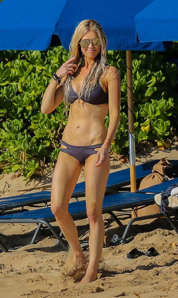 Christina El Moussa in bikini