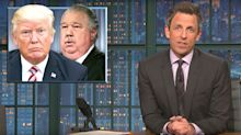 Seth Meyers Rips Trump's USDA Hires: 'A Team For A S****y Bank Heist'