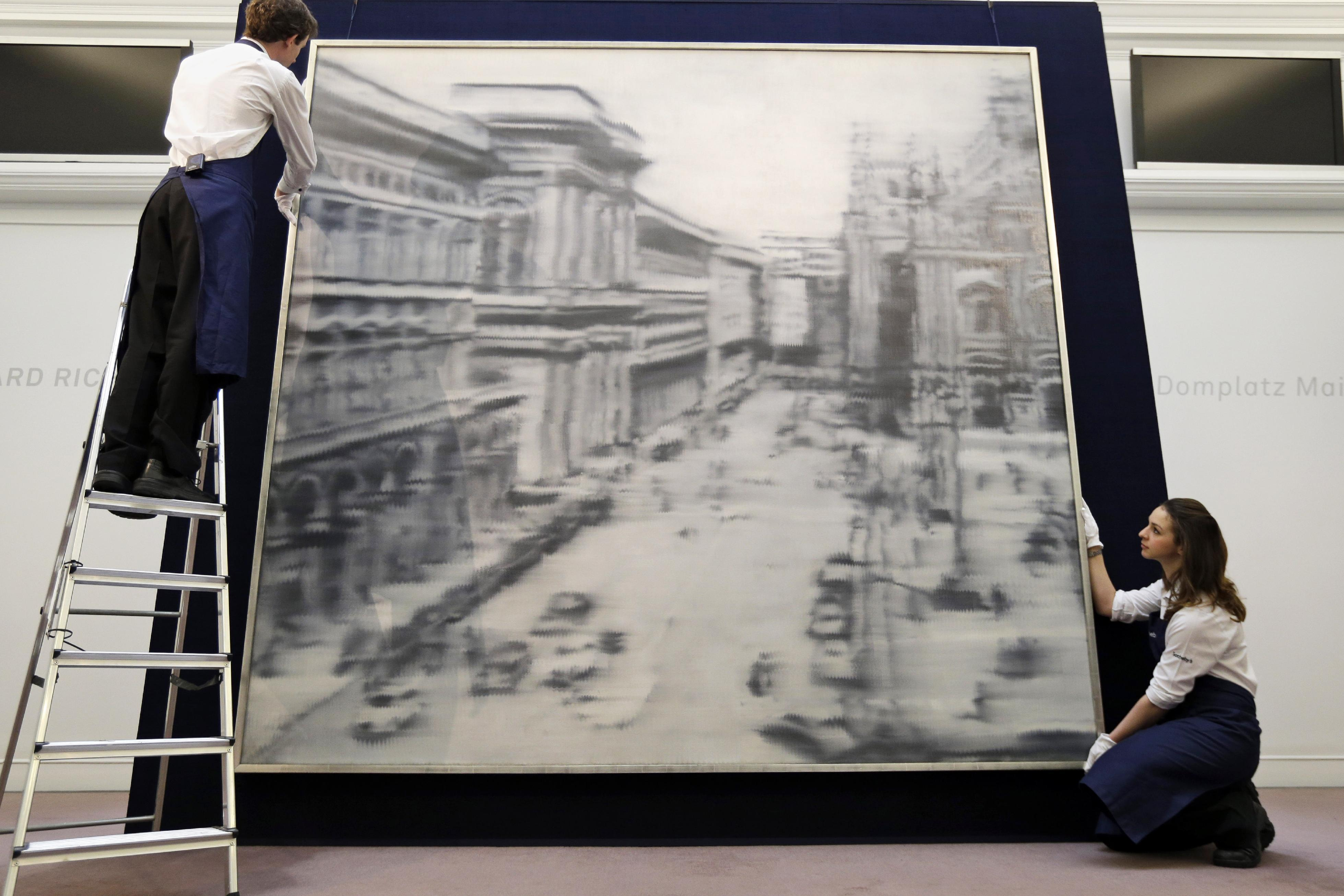 Richter painting sells for $37 million in NYC