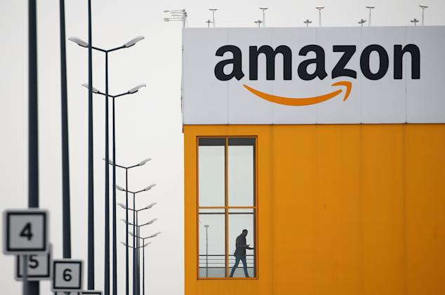 Amazon keeps French warehouses closed in standoff over health protections