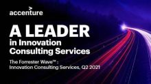 Accenture Named a Leader in Innovation Consulting Services in Analyst Report