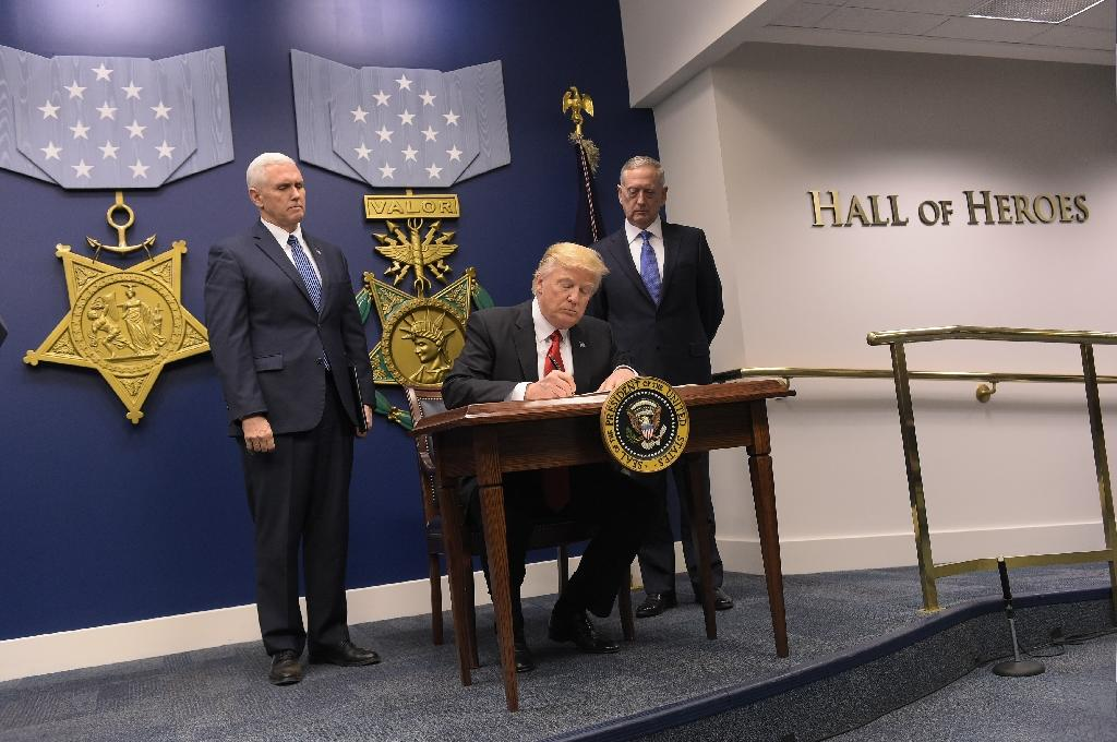 President Donald Trump's upcoming order is seen as meaning more US forces and military hardware will move into Iraq and Syria