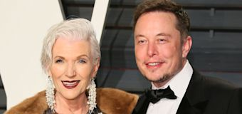 Elon Musk's mom says he was doing this at age 3