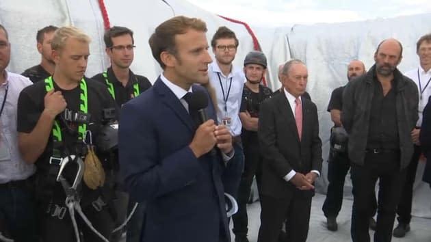 """""""Un lieu qui a tant souffert"""": la référence de Macron aux gilets jaunes à l'Arc de Triomphe"""