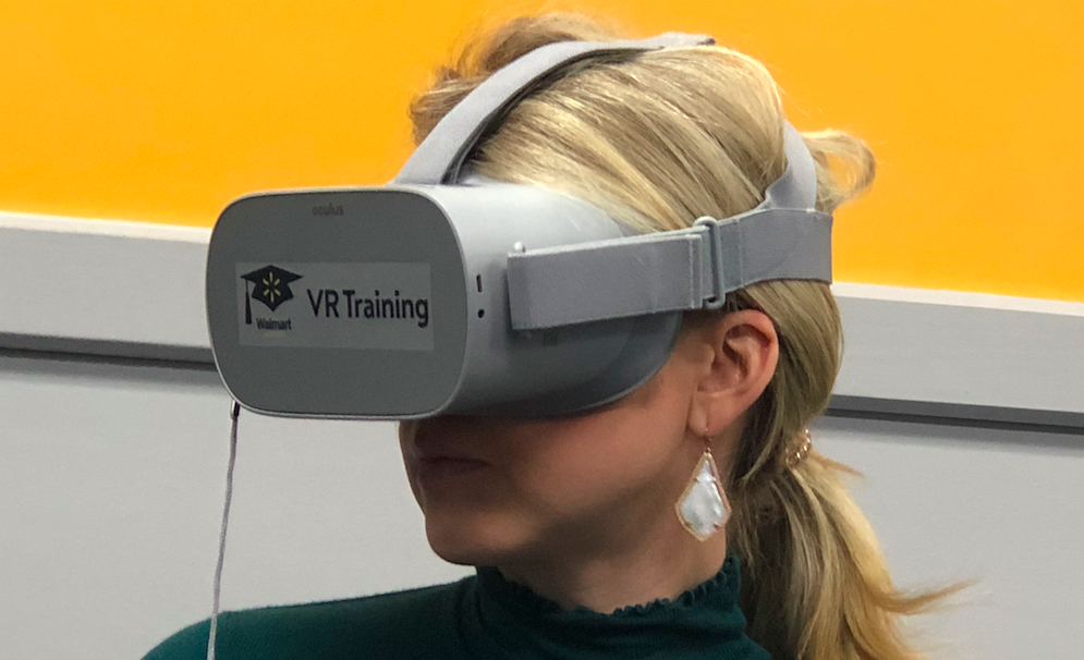 I tried the new VR training that 1 million Walmart associates will go through this year