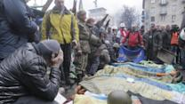 Raw: Truce Fails, Gun Battles Rage in Kiev