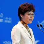Hong Kong leader demands end of independence talk, warns ties with Beijing at risk