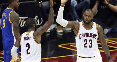 Basket - Transferts - LeBron James a réagi au départ de Kyrie Irving pour Boston