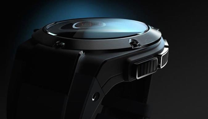 Echa un vistazo al futuro (y lujoso) smartwatch de HP
