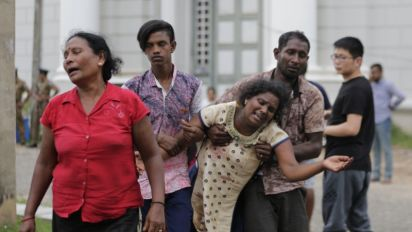 13 arrested after blasts kill at least 207 in Sri Lanka