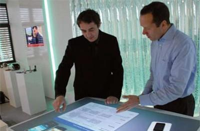 Video: Epson's multitouch X-Desk is your next coffee table